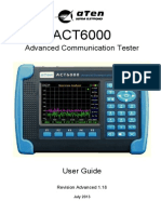 ACT6000 User Guide 1.18
