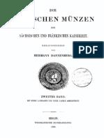 Die deutschen Münzen der sächsischen und fränkischen Kaiserzeit. Bd. II / hrsg. von Hermann Dannenberg