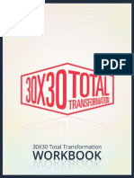 30x30 Total Transformation Workbook