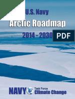US Navy Arctic Roadmap for 2014-2030