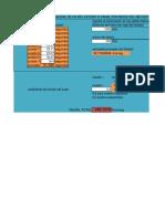 Planilla Para Calcular El Caudal de Un Canal Por Medio Del Metodo Del Flotador