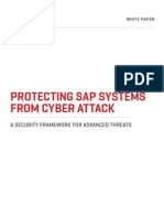 Protecting SAP Systems From Cyber Attack
