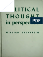 Political Thought in perspective