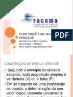 2014-02-22 - construção da tabela-verdade