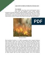 Hubungan Kebakaran Hutan Dengan Serangan Hama Dan Penyakit