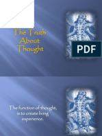 the truth about thought