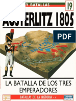 Ejercitos y Batallas 19 - Austerlitz 1805