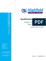 Qualification Specification HABC Level 2 Award in Fire Safety (QCF) [2014 01-29-10 35]