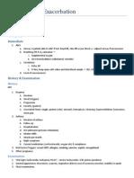 Acute Asthma Exacerbation