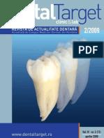 Revista Dental Target 11 Aprilie 2009