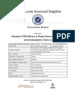 Supplier Assessment Report-Shenzhen WJM Silicone & Plastic Electronic Co., Ltd.