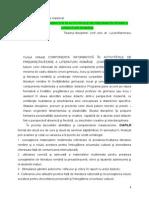 Sinteza Componenta Informatica in Predarea Llr