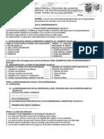 Examen de Emprendimiento y Gestion Mg. 2014