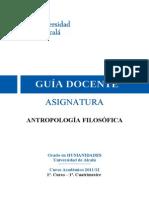 (1º.) 252002 Antropologia filosófica