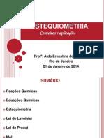 Estequiometria - conceitos e aplicações