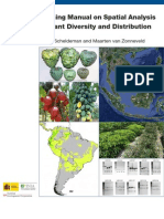 1431 Training Manual on Spatial Analysis of Plant Diversity and Distribution.final
