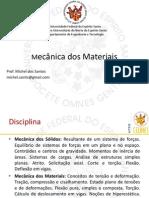 Mecânica dos Materiais - cap1 e 2