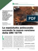 UNI 10779 Manichette