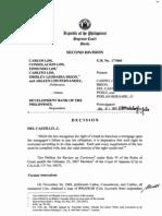 Lim vs. Dbp (for Civ Digest)
