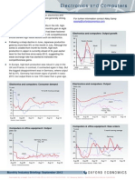 Monthly Industry Briefing - Electronics and Computers Sept 2013