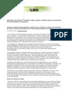 Sincronia de Dilma e Tombini sobre ajuste cambial parece prenúncio de outra política econômica