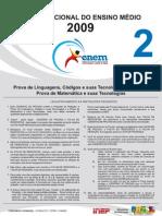 Enem 2009 parte II