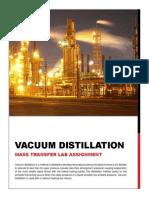 Vacuum Distillation Colume