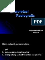 interpretasi radiografis periapikal