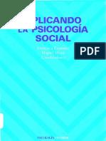 Aplicando La Psicologia Social
