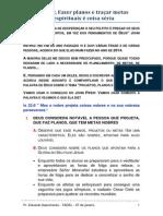 2014-01-07-TADEL-pr.eduardo-Projetar, Fazer planos e traçar alvos espirituais é coisa séria