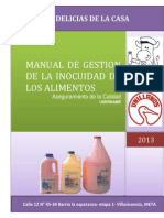 Manual Delicias de La Casa
