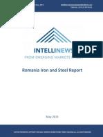 Intellinews - Romania Steel and Iron Report Mai 2013