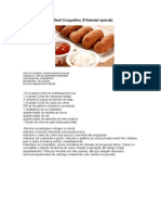 Beef Croquettes (Frikandel Special)