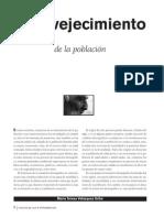 Envejecimiento de La Poblacion Revista UNAM