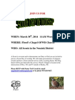 Scout Day of Worship Flyer 2014