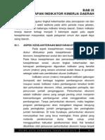 Bab Ix Indikator Kinerja Daerah Ukuran a5