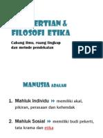 B Pengertian Filosofi Etika1