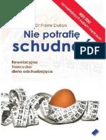Dr Pierre Dukan - Nie potrafię schudnąć(cała książka)
