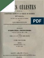 Em Swedenborg ARCANES CELESTES TomeHuitieme Genese XXXVI XL Numeros 4635 5190 LeBoysDesGuays 1853