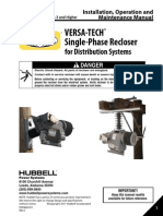 Versatech Recloser Manual