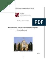 Monografie Proces Bugetar Primaria v Dornei