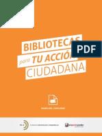Bibliotecas para tu acción ciudadana, 2013 (Chile)