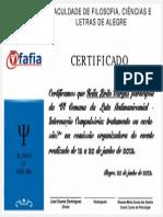 Certificado - Keila