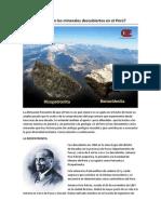 Sabes cuáles son los dos minerales descubiertos por geólogos peruanos