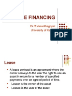 Lease Financing MBA-IMK