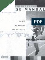 Ier Exam Preparation Pt Course Manual Blue Book[1]