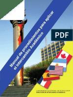 Manual de procedimientos para Intercambio Académico