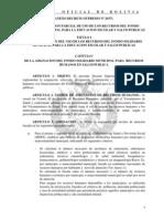 DS. Reglamentación fondo solicario A-DS26371-2353
