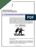 Notation Fonctionnaires Jurisprudence