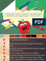 Teori Belajar Pavlov